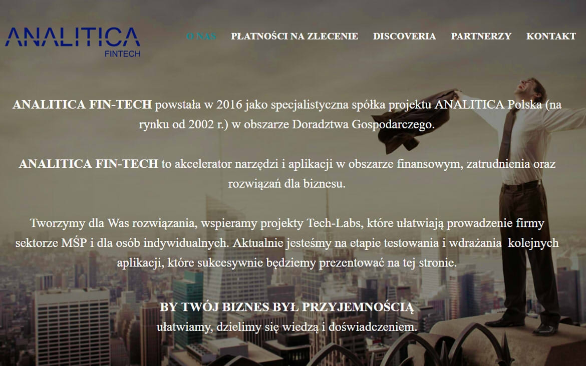 ANALITICA Fin-Tech Sp. z o.o.